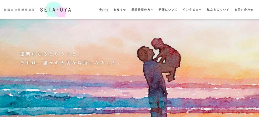 setaoyaサイト画像